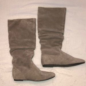 Steve Madden P-Gianna Suede Slouch Boots